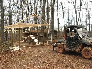 How to build a shed for a quad garden shed storage ideas for Atv shed plans